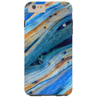 weathered blue barn boards tough iPhone 6 plus case