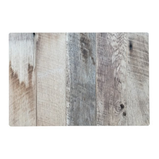 Weathered Boards Wood Plank Background Texture Placemat