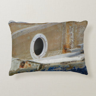 WEATHERED BOAT 3 Accent Pillow