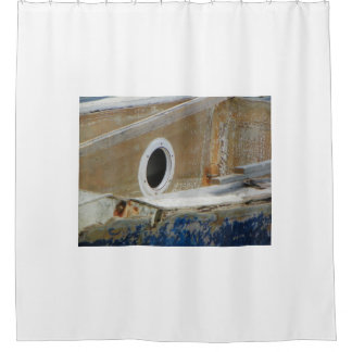 WEATHERED BOAT 3 Shower Curtain