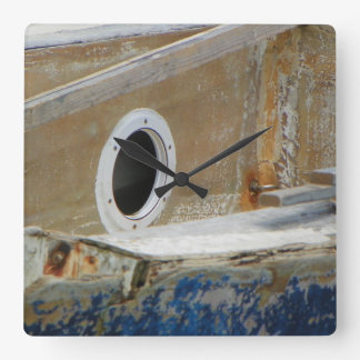 WEATHERED BOAT 3 Wall Clock