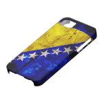 Weathered Bosnia Flag iPhone 5 Case