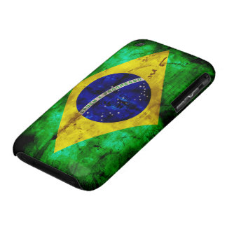Weathered Brazil Flag iPhone 3 Cover