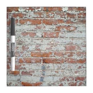 Weathered Brick Wall Dry-Erase Whiteboard