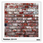 Weathered Brick Wall Pattern Room Decal