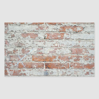 Weathered Brick Wall Sticker