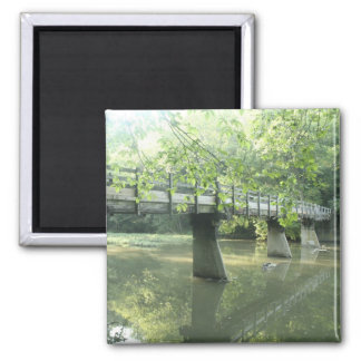 Weathered Bridge Magnet