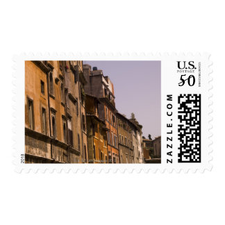 Weathered buildings, Rome, Italy Postage