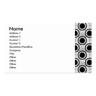 Weathered bullseye Double-Sided standard business cards (Pack of 100)