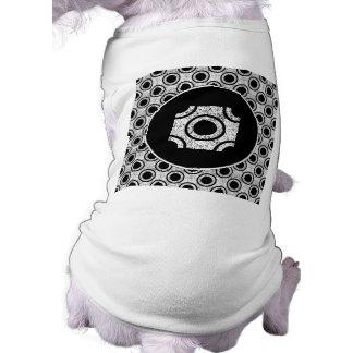 Weathered bullseye doggie tee