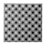 Weathered bullseye tile