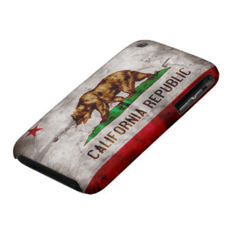 Weathered California Flag iPhone 3 Cases