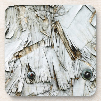 Weathered Chipboard Drink Coaster