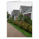 Weathered Cottages Stationery Note Card