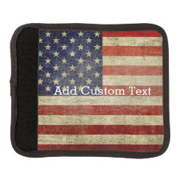 Weathered, distressed American Flag Handle Wrap