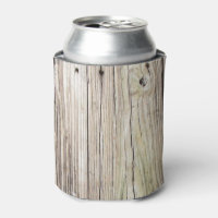 Weathered Dock Boards Can Cooler