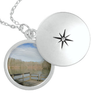 Weathered Dock Sterling Silver Necklace