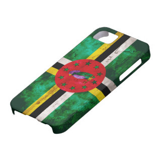 Weathered Dominica Flag iPhone SE/5/5s Case