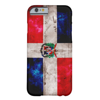 Weathered Dominican Republic Flag Barely There iPhone 6 Case