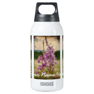 Weathered Fireweed; Customizable Insulated Water Bottle