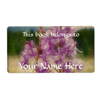 Weathered Fireweed Label