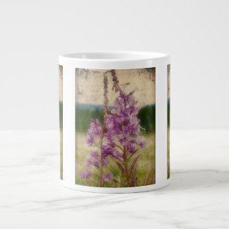 Weathered Fireweed; No Greeting Giant Coffee Mug