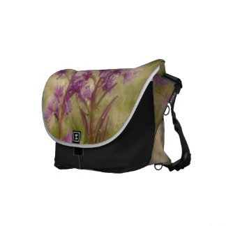 Weathered Fireweed; No Greeting Messenger Bags