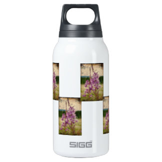 Weathered Fireweed; No Greeting Thermos Water Bottle