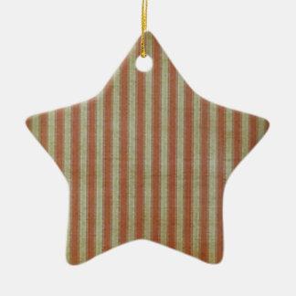 Weathered Flag Ceramic Ornament