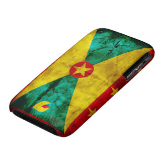 Weathered Grenada Flag iPhone 3 Cover