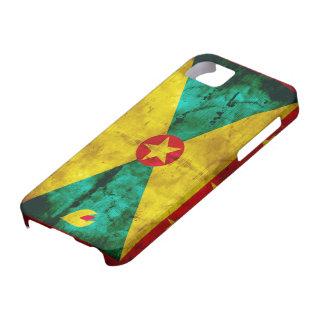 Weathered Grenada Flag iPhone SE/5/5s Case