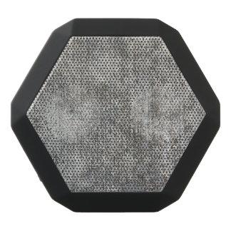 Weathered Grey Cement Sidewalk Black Bluetooth Speaker