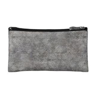 Weathered Grey Cement Sidewalk Cosmetic Bag