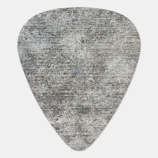 Weathered Grey Cement Sidewalk Guitar Pick