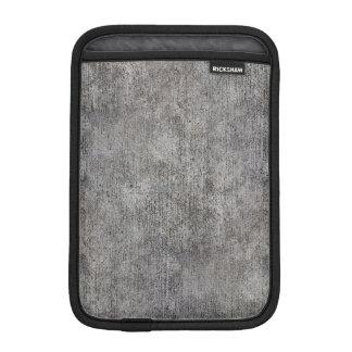 Weathered Grey Cement Sidewalk iPad Mini Sleeves