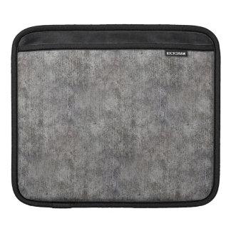 Weathered Grey Cement Sidewalk iPad Sleeve
