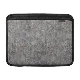 Weathered Grey Cement Sidewalk MacBook Air Sleeves