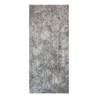 Weathered Grey Cement Sidewalk Rack Card