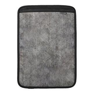 Weathered Grey Cement Sidewalk Sleeve For MacBook Air