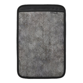 Weathered Grey Cement Sidewalk Sleeves For MacBook Air