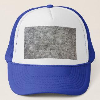 Weathered Grey Cement Sidewalk Trucker Hat