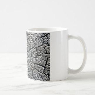 Weathered growth ring coffee mug