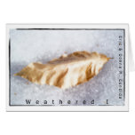 Weathered I Greeting Cards