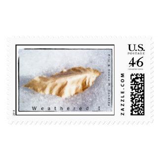 Weathered I Stamp