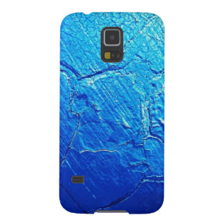 Weathered In Blue Galaxy S5 Cases