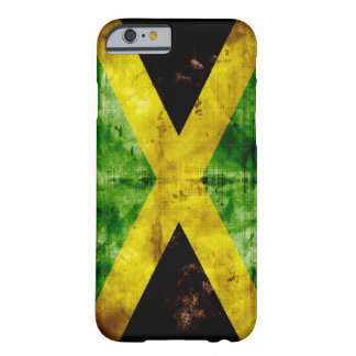 Weathered Jamaica Flag Barely There iPhone 6 Case