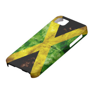 Weathered Jamaica Flag iPhone SE/5/5s Case