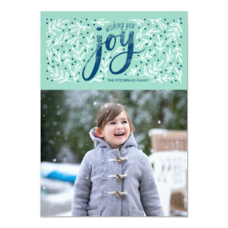 Weathered Joy Holiday Photo Cards
