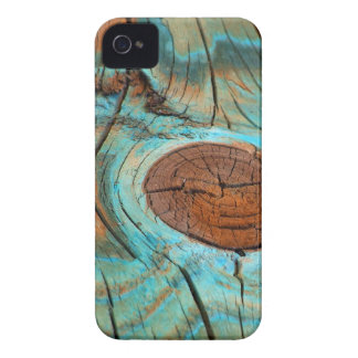 Weathered Knothole iPhone 4 Case-Mate Barely There