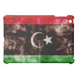 Weathered Libya Flag iPad Mini Cases